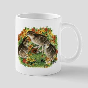 Bobwhite Chick Garden Mug