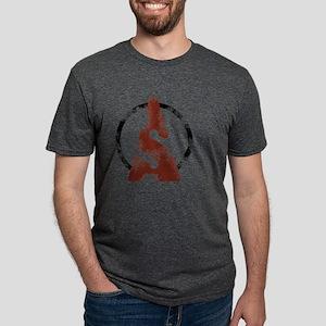 cave-diver-parking-icon Mens Tri-blend T-Shirt