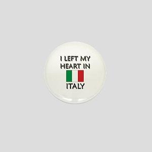 I Left My Heart In Italy Mini Button