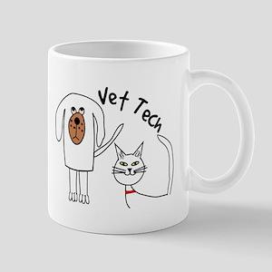 Vet Tech dog and cat Mug