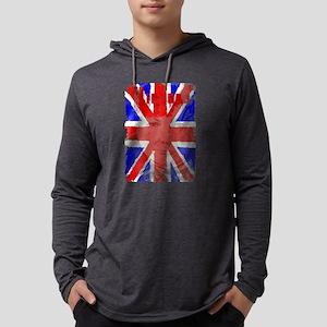 Churchill Union Jack Mens Hooded Shirt