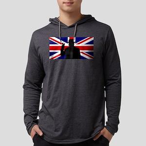 Winston Churchill Victory Mens Hooded Shirt