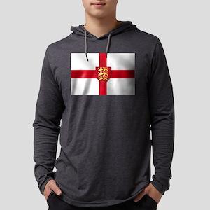 England Three Lions Flag Mens Hooded Shirt