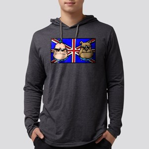 British Bulldogs Mens Hooded Shirt