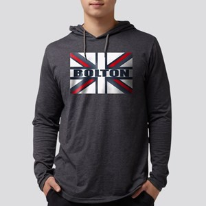 Bolton England Mens Hooded Shirt