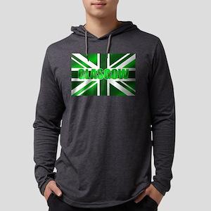 Glasgow Scotland Mens Hooded Shirt