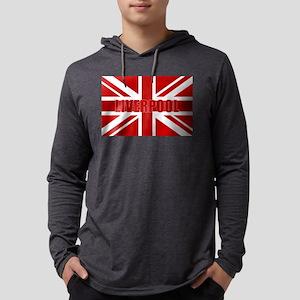 Liverpool England Mens Hooded Shirt