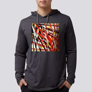 abstract1 Mens Hooded Shirt