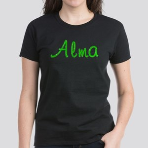 Alma Glitter Gel Women's Dark T-Shirt