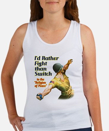 I'd rather fight than switch! Women's Tank Top