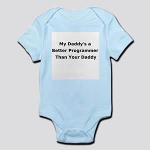 Programmer Daddy Infant Creeper Body Suit