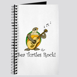 Sea Turtles Rock Journal