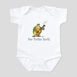 Sea Turtles Rock Infant Bodysuit