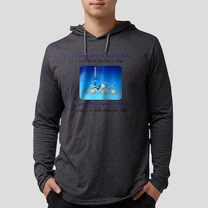 prayingfish01ax Mens Hooded Shirt