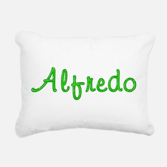 Alfredo Glitter Gel Rectangular Canvas Pillow