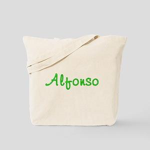Alfonso Glitter Gel Tote Bag