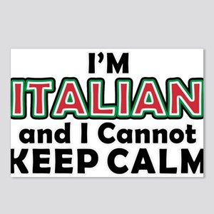 Italians Cant Keep Calm Postcards (Package of 8)