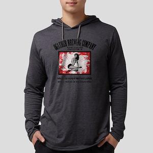 OgleherHoneyBrownLAGER Mens Hooded Shirt