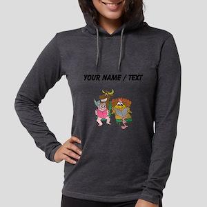 Custom Animals Reading Womens Hooded Shirt