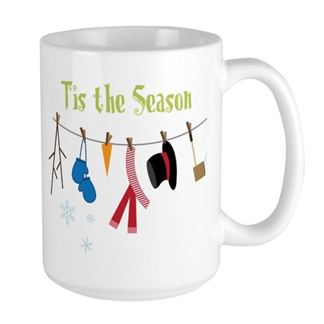 Tis The Season Large Mug