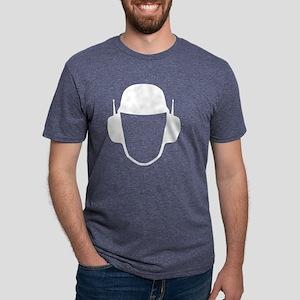 earphones for black... Mens Tri-blend T-Shirt