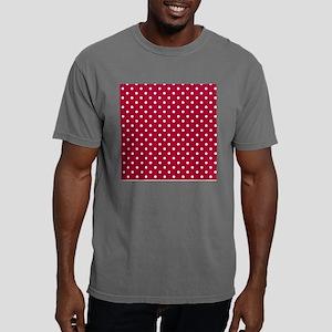 White Polka Dot Shower C Mens Comfort Colors Shirt