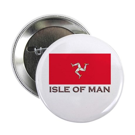 The Isle Of Man Flag Stuff Button