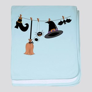 Witch Clothing baby blanket