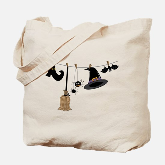 Witch Clothing Tote Bag