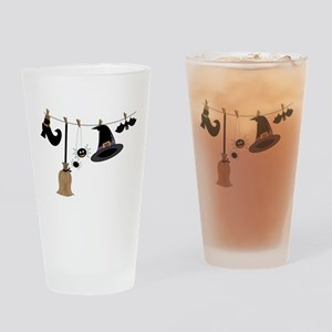 Witch Clothing Drinking Glass