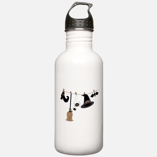 Witch Clothing Water Bottle