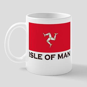 The Isle Of Man Flag Gear Mug