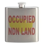 Occupied NDN Land Flask