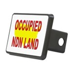 Occupied NDN Land Rectangular Hitch Cover