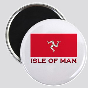 The Isle Of Man Flag Merchandise Magnet