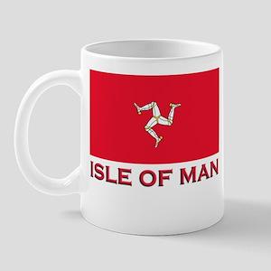 The Isle Of Man Flag Merchandise Mug