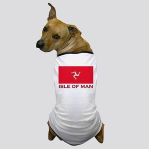 The Isle Of Man Flag Merchandise Dog T-Shirt