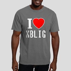 I Heart XBLIG - Black/Co Mens Comfort Colors Shirt