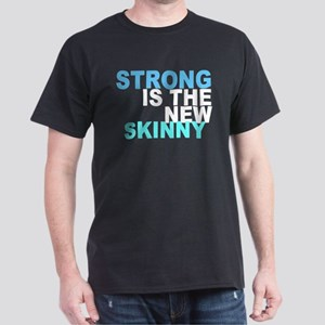 Strong is the New Skinny - Blue Dark T-Shirt