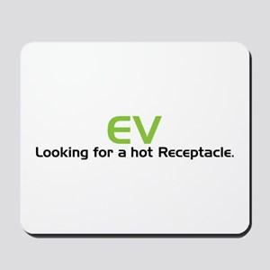 Electric Vehicle Hot Receptacle Mousepad