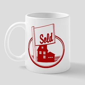 RE oval SOLD Mug