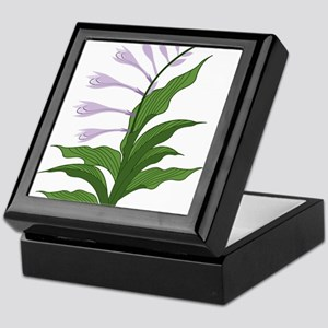 Flowering Hosta Keepsake Box
