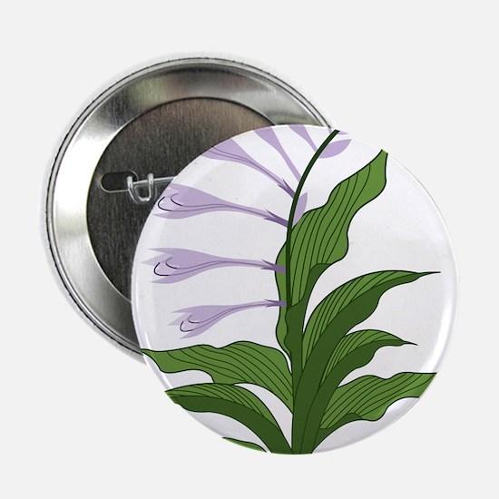 """Flowering Hosta 2.25"""" Button"""