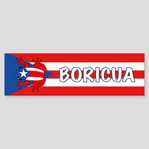 Puerto Rico - PR - Coqui Sticker (Bumper)