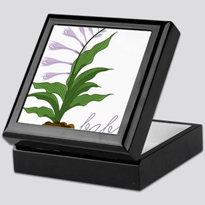 Hosta La Vista Keepsake Box