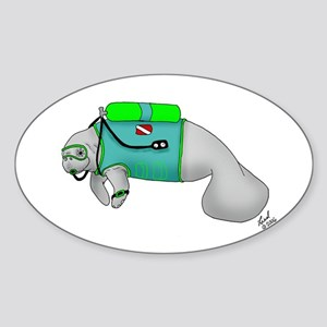 Malulani Oval Sticker