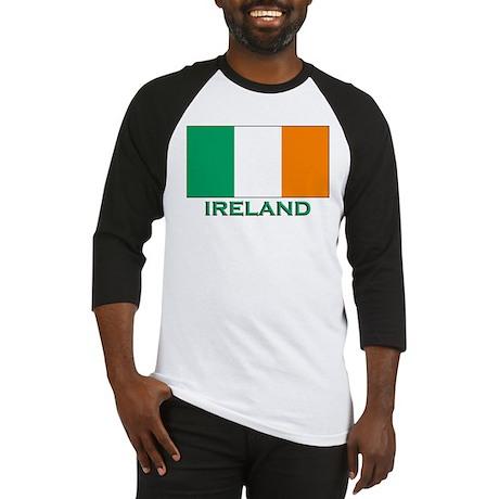 Flag of Ireland Baseball Jersey