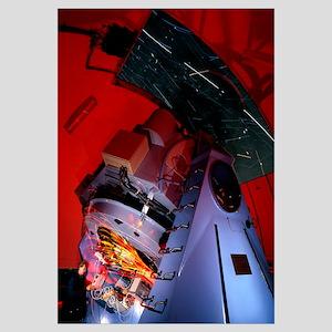 Time-exposure image of Nordic Optical Telescope