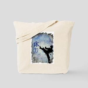 Power Kick Tote Bag