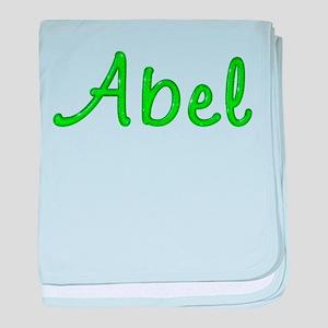 Abel Glitter Gel baby blanket